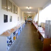 ものづくり学校二階廊下