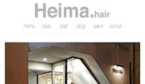 Heima.hair ホームページ